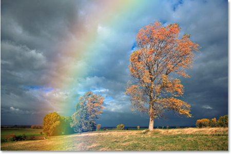 rainbow-blur